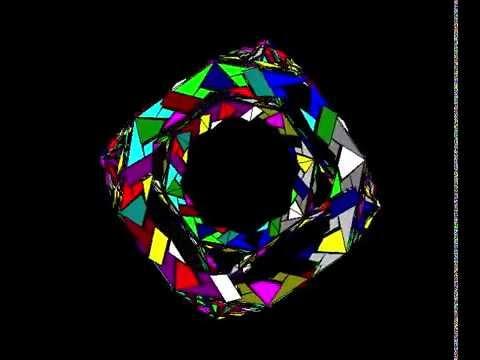 Pretzangles Truncated Cube 113