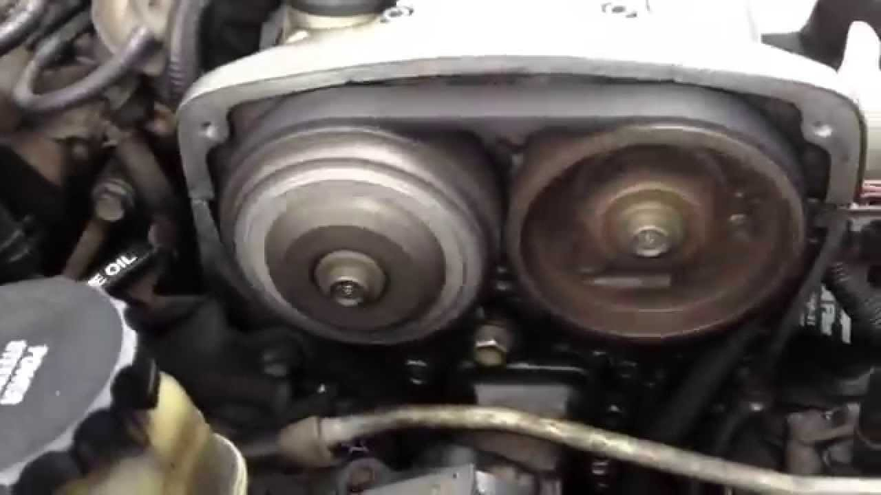 4age 20valve timing - YouTube