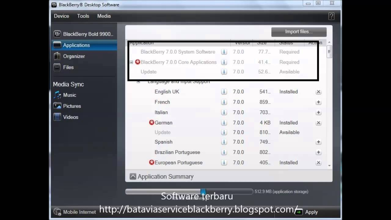 Download software bb 8520 indonesia