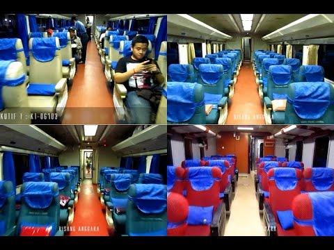 Yuk Mengintip Interior Kereta Eksekutif Lodaya