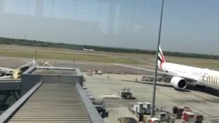 Etihad Airways Take Off from Hyderabad