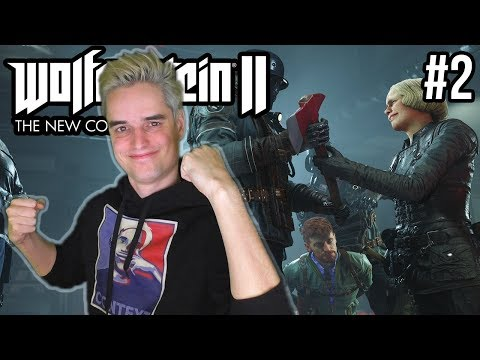 WE ZETTEN HET AVONTUUR VOORT! - Wolfenstein 2 The New Colussus #2 (Livestream)