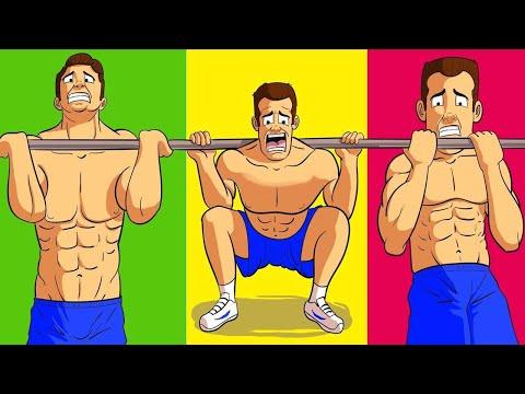 3 Лучших Упражнения для Набора Массы