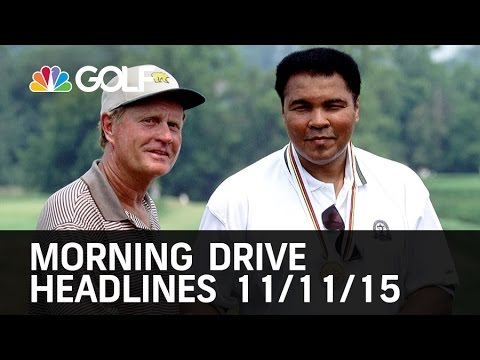 Morning Drive Headlines 11/11/15 | Golf Channel