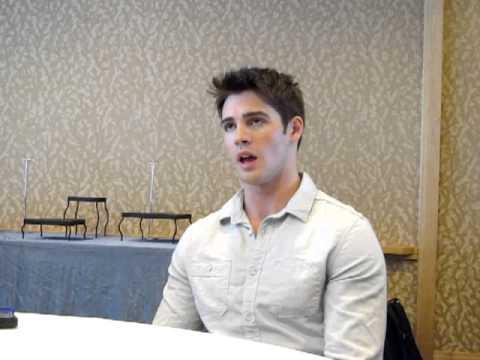 with Vampire Diaries Steven R. McQueen, ComicCon 2012