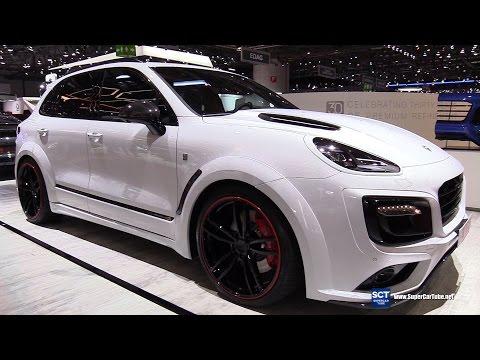 2017 Porsche Cayenne TechArt Magnum Sport  - Exterior Interior Walkaround - 2017 Geneva Motor Show