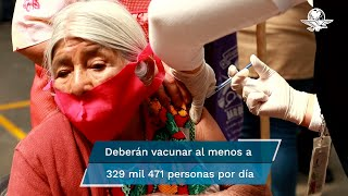 Prevé inmunizar a partir del 1 de mayo a 12.7 millones de mexicanos de sector poblacional; si buscan llegar a meta, debe haber dosis necesarias y acabar de inocular a mayores de 60: expertos