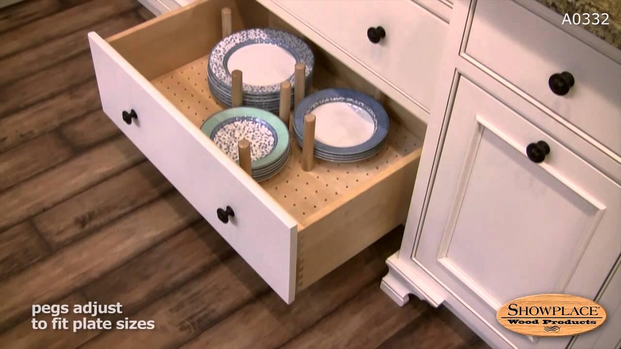 kitchen cabinet organizer layout design tool drawer plate - showplace convenience ...