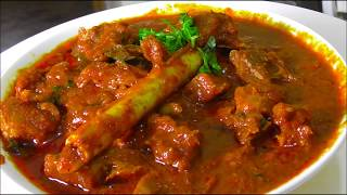 MUTTON CURRY RECIPE TELANGANA STYLE/ mutton gravy curry