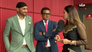 Diva Patang interview with Harbhajan Singh and Sanjay Manjrekar on #INDVNZ