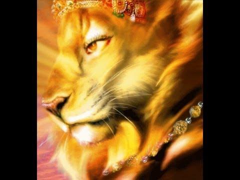half man half lion god