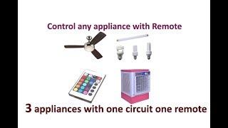 Video Remote control circuit for home appliances like fan, tube light, cooler, 3channel remote in hindi download MP3, 3GP, MP4, WEBM, AVI, FLV Juli 2018