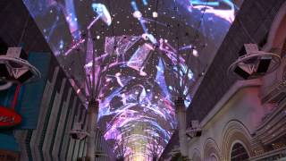 Fremont Street Experience Light Show- 2015 Awesome!