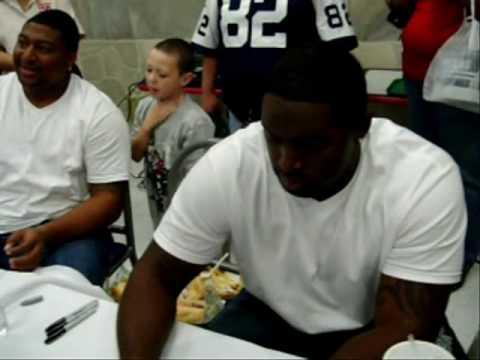 Jay Ratliff, Sam Bowen, Sign Autographs In El Paso TX