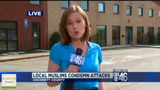 cbs46: Ahmadiyya Muslims condemn brussels terror attacks