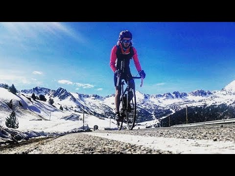 Cycling Highest Pass In Andorra 2408m