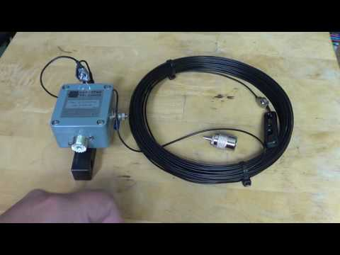 HyEndFed Shortwave wire antenna with Unun Hand Made from Holland