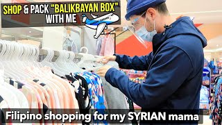 "Bringing ""BALIKBAYAN BOX"" For My SYRIAN FAMILY!✈️ Full of FILIPINO GOODS 🇵🇭 (Shoes, Pasalubong etc.)"