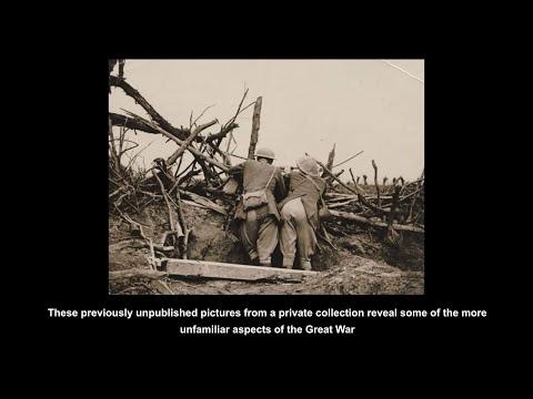 Unseen World War One photographs WW1