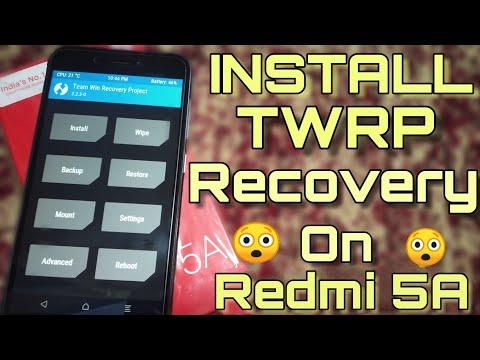 download twrp xiaomi redmi 5a tanpa pc