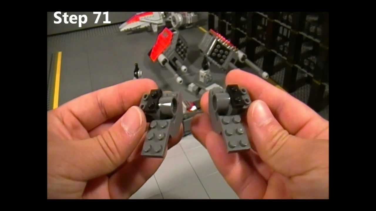 Lego Goliath Instructions Part 3 Of 5 Starcraft Ii Terran Youtube