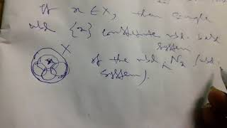 Idea of First countable space in  topological space