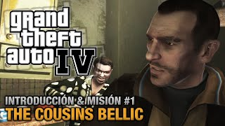 GTA 4 - Intro y Misión #1 - The Cousins Bellic (Español - 1080p 60fps)
