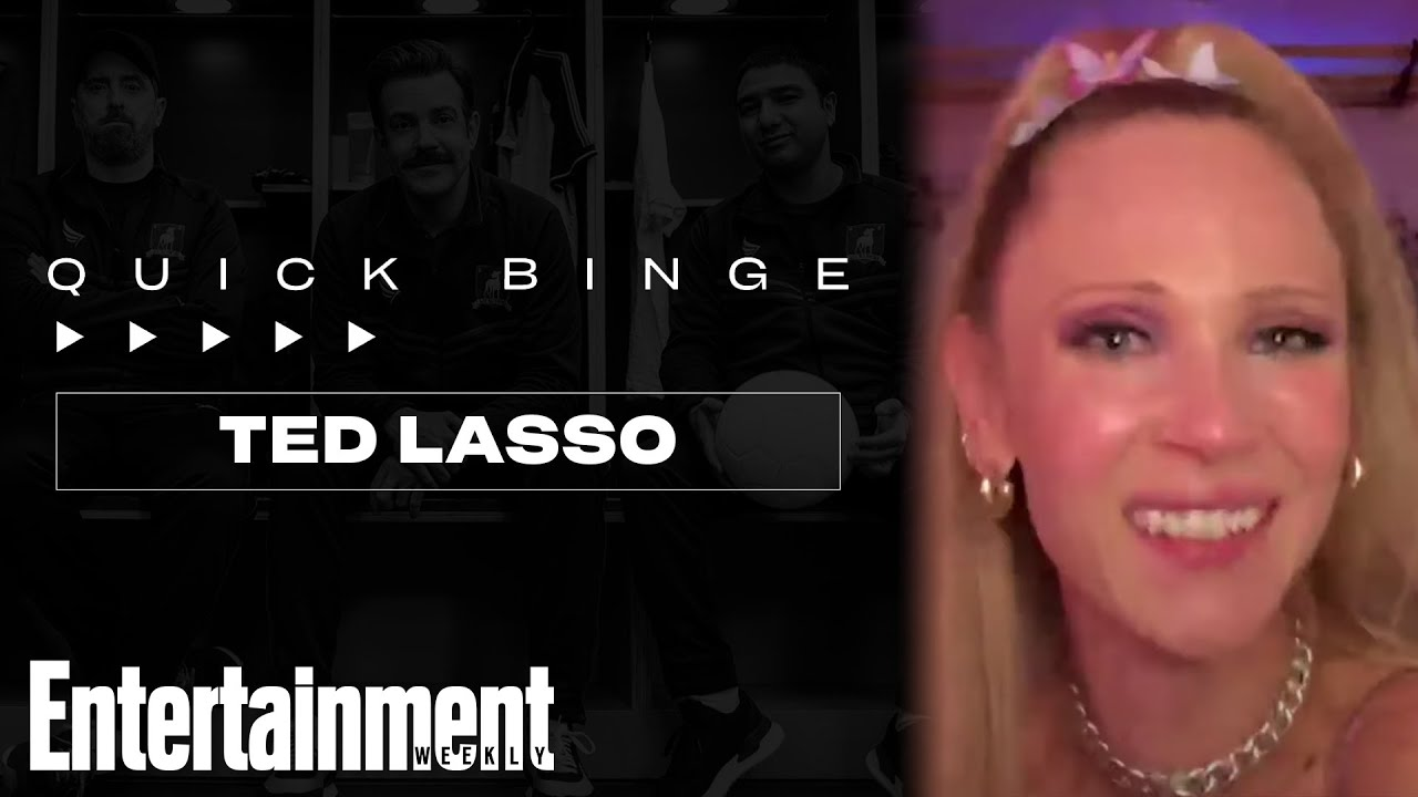 Juno Temple's Guide to Start Watching 'Ted Lasso' | Quick Binge