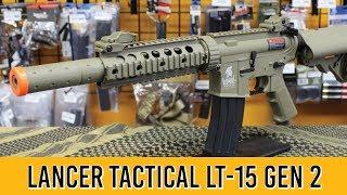 Lancer Tactical LT-15 Gen 2 Airsoft Gun Review