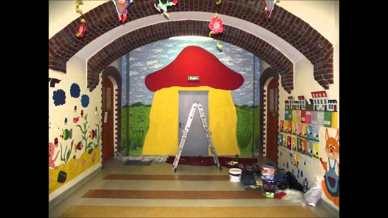 Artytyczne Malowanie Scian Przedszkole Wroclaw Etapy Powstawania