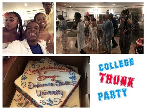 College Trunk Party Vlog  DSU22