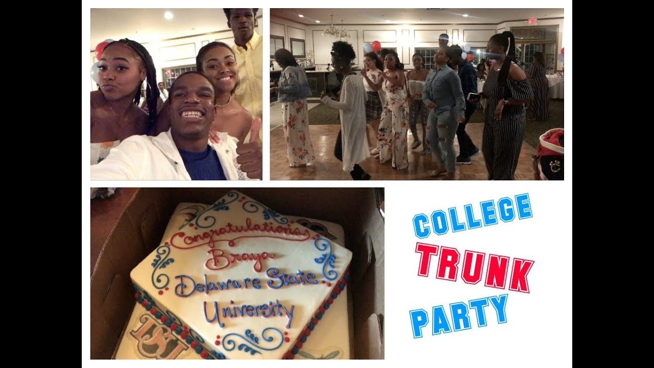 College Trunk Party Vlog