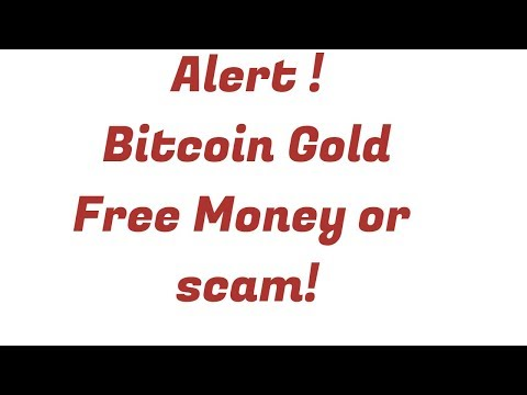 Bitcoin Gold may be a possible Scam/ Save your private key/Free money or Scam