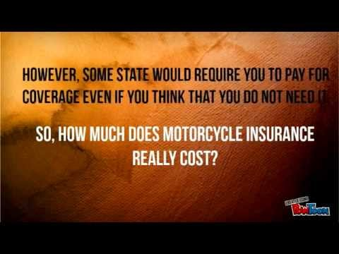 How Much Does Motorcycle Insurance Cost?