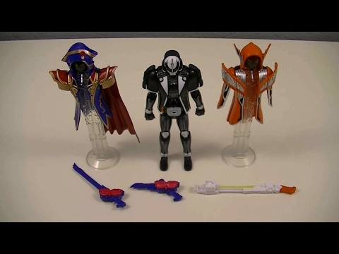 GCPB02 Kamen Rider Dark Ghost & Napoleon Ghost & Darwin Ghost Set Review (Kamen Rider Ghost)