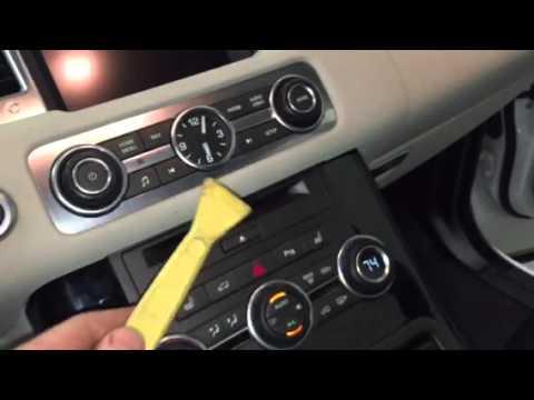 2010 2011 2012 Range Rover Sport Radio Central Console