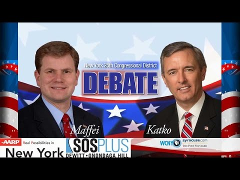 WCNY NY 24th District Congressional Debate