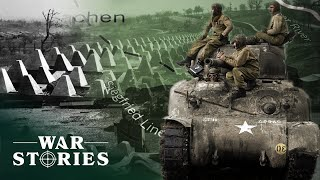 Over The Dragons Teeth: The Battle For Germany | Greatest Tank Battles | War Stories