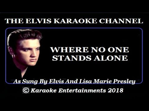 The Gospel Side Of Elvis Karaoke Where No One Stands Alone 2018 Remix