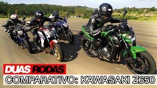 Comparativo: Kawasaki Z650 x Yamaha MT-07 x Honda CB 650F x Yamaha XJ6