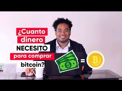 Cuanto Dinero Necesito Para Invertir En Bitcoin Y Otras Criptomonedas?