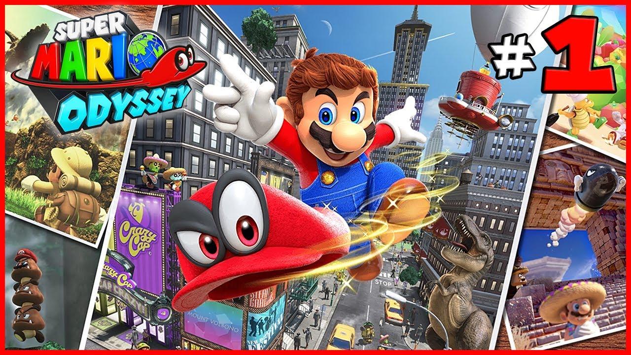 SUPER MARIO ODYSSEY #1 : Huyền thoại Mario phiên bản 3D – Cuộc phiêu lưu đến các Vương Quốc