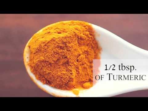 Turmeric Liver Flushing Detox Drink
