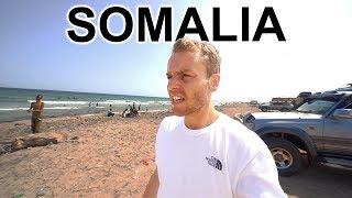 On SOMALIA BEACH looking for PIRATES (Extreme Travel Somalia)