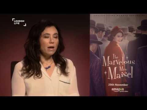 Rachel Brosnahan and Alex Borstein on comedy, censorship & The Marvelous Mrs Maisel  London Live