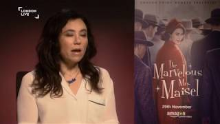 Rachel Brosnahan and Alex Borstein on comedy, censorship & The Marvelous Mrs Maisel | London Live