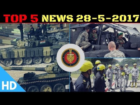 Top 3 Latest Headlines : Indian Defence Updates : Indian Army Apache,India Singapore,Tank Biathlon