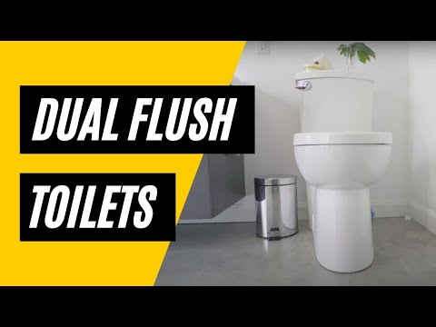 Dual Flush Toilets: How You Can Save With A Dual Flush Toilet