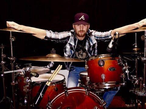My Kinda Party- Jason Aldean- Drum Cover