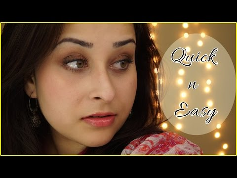 Get Ready with Me | Everyday Simple Indian Look !
